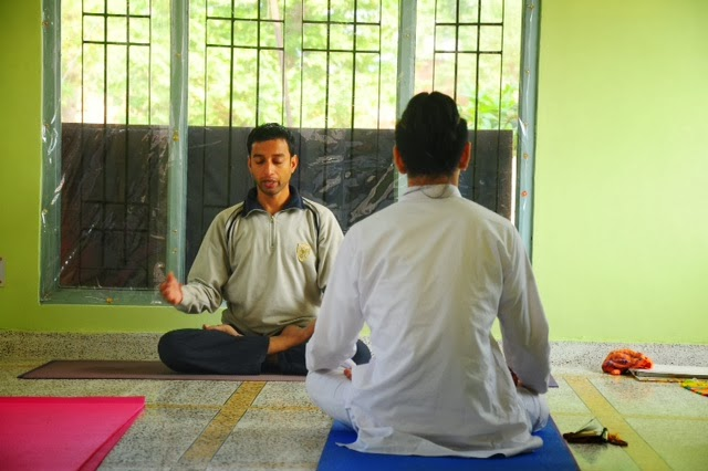 Mantra chanting session