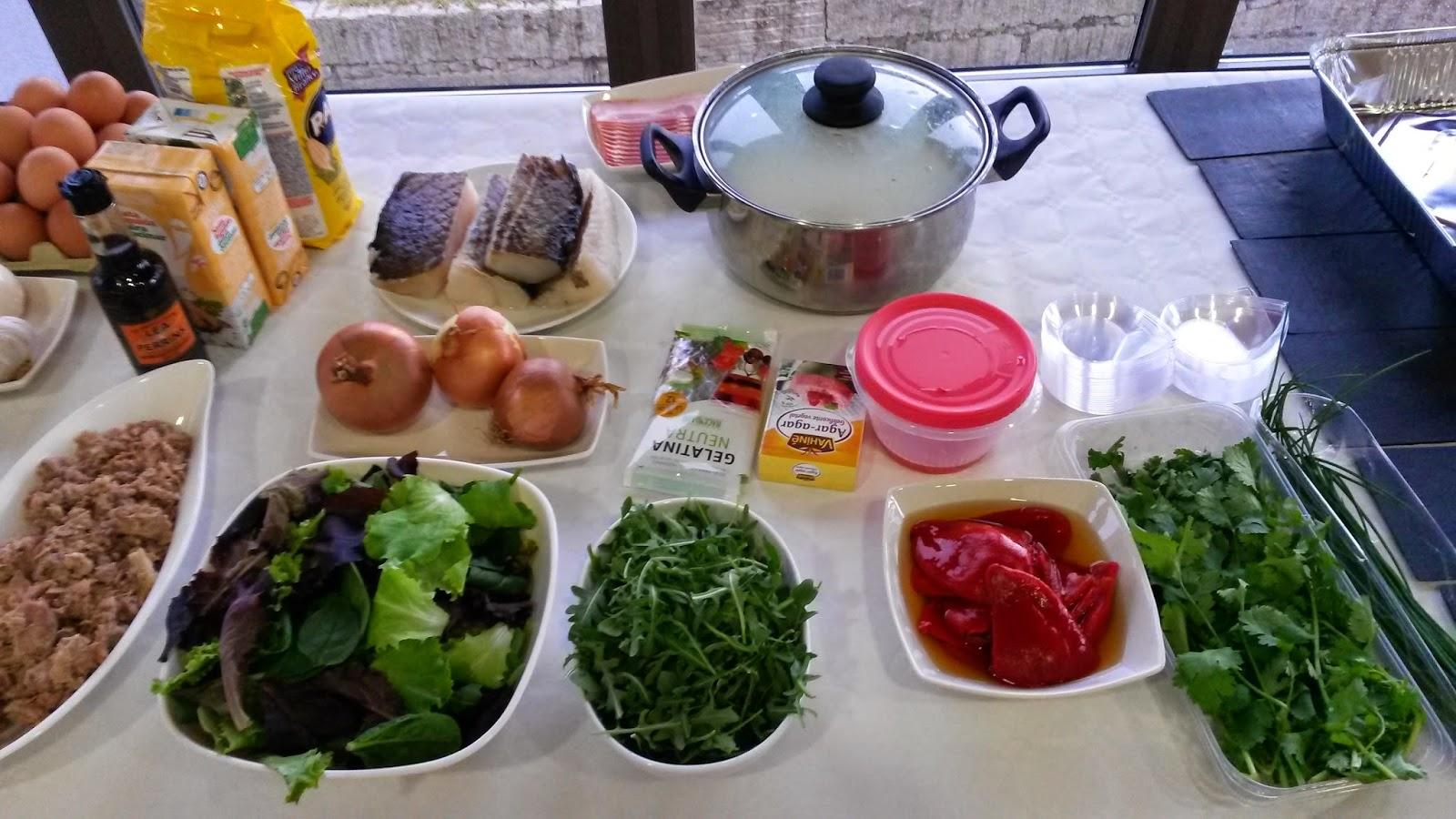 Tira del hilo taller de pinchos en adega eidos for Cocinar jurel