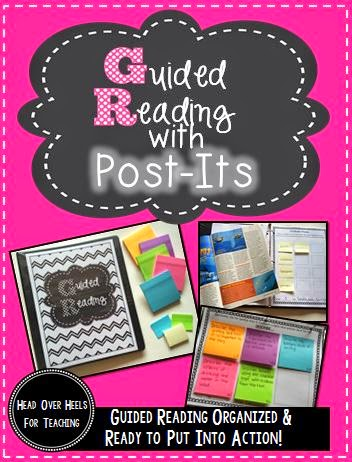http://www.teacherspayteachers.com/Product/Guided-Reading-With-Post-Its-1330945