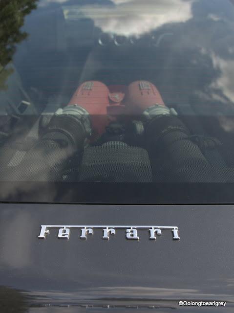 Sporty Ferrari