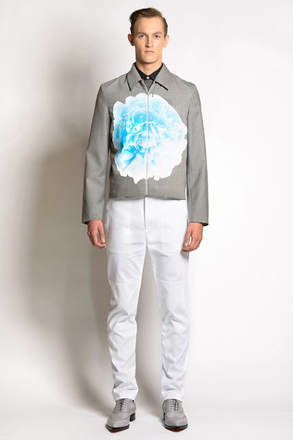 Jonathan Saunders SS14, London Collections Men