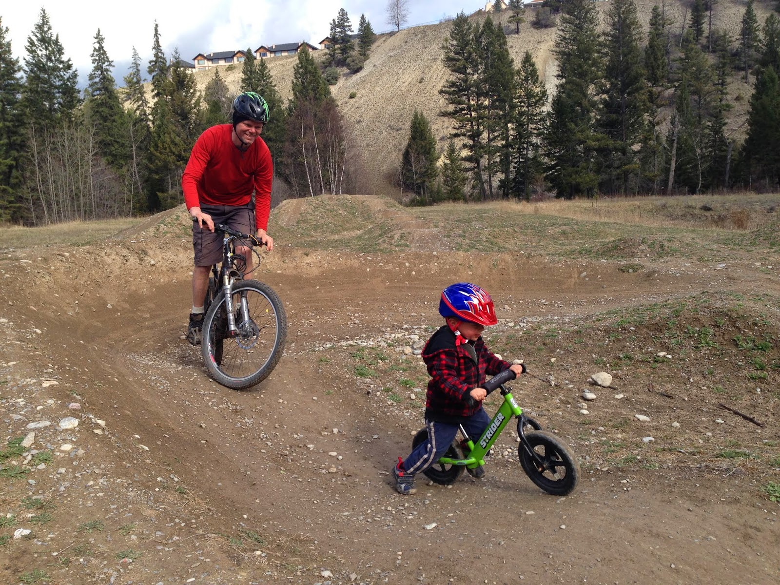 family adventures in the canadian rockies kids on wheels pump