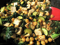Lemony Chickpea Stir Fry