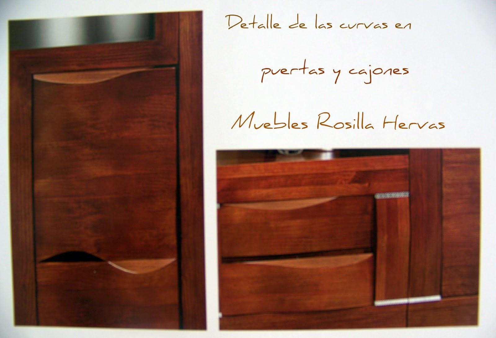 Muebles rosilla herv s las curvas est n de moda for Muebles hervas