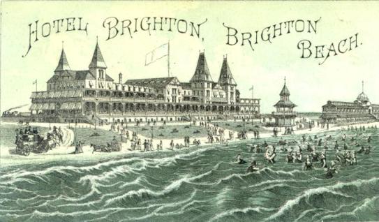 1878 Wurde Durch Engemann Das Brighton Beach Hotel Alternativ Fertiggestellt Pünktlich Zur Sommersaison Am 02 Juli öffnete