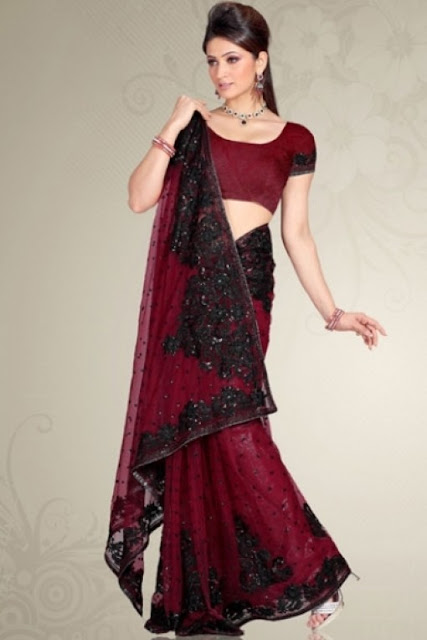 Saree Designs and patterns 2012
