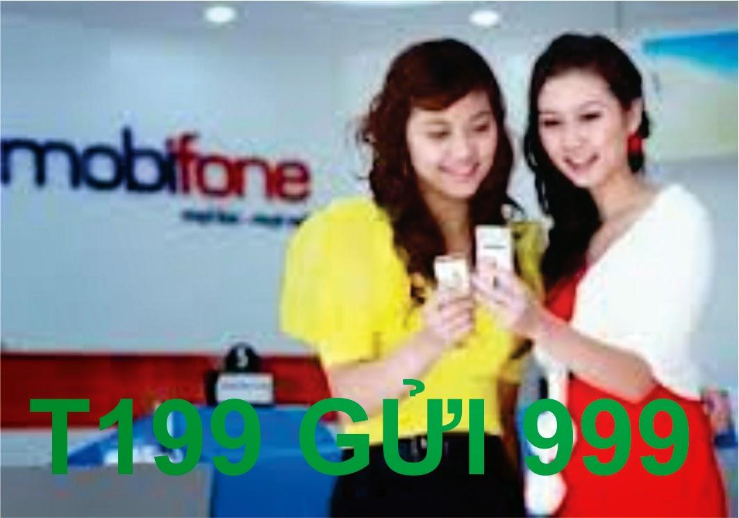 Đăng ký gói thoại T199 của Mobifone