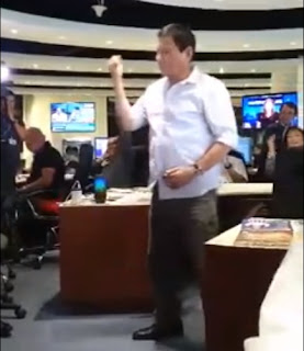 Duterte dances Nae Nae