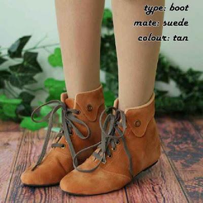 Sepatu Boots Korean Style Murah Berkualitas Kode BT1, Rp. 95 Ribu Free Ongkir