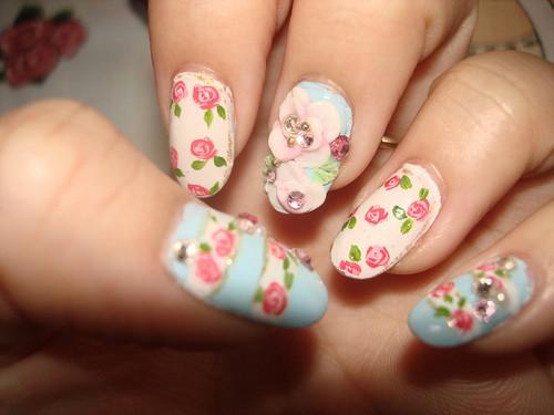 como fazer unhas Dia Dos Namorados Nails