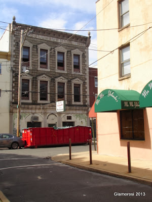 Mama Yolanda's original space, and new awnings across 8th street