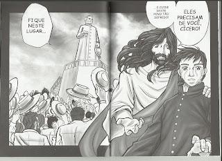 O sonho do Pe. Cícero com Jesus.