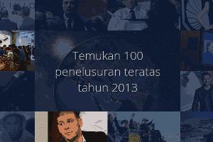 Statistik Pencarian Google Indonesia 2013