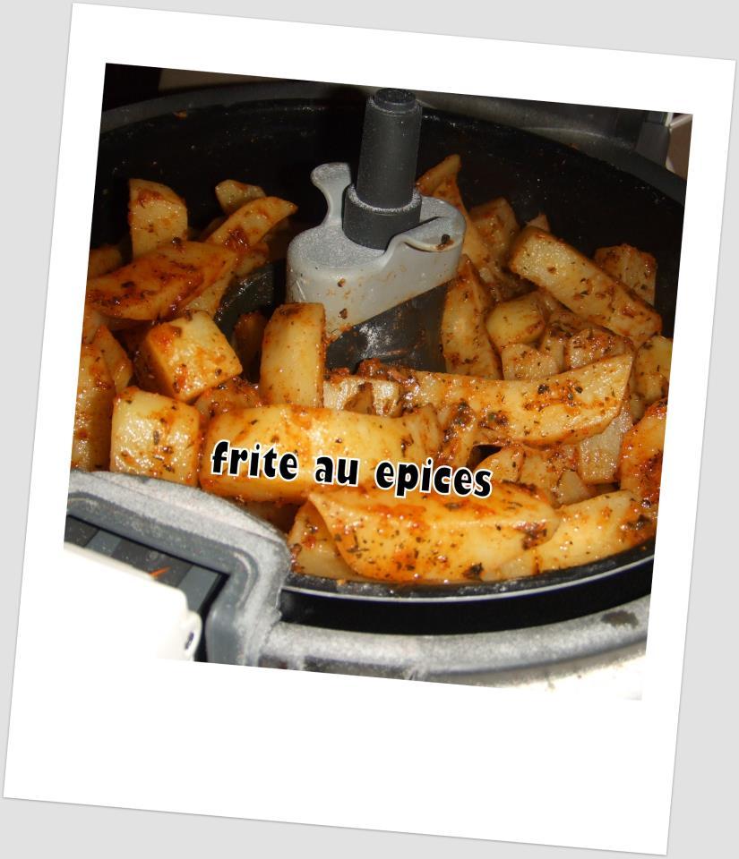 Frites au epices 200 calerie la part un regal blogs for Cuisine regale