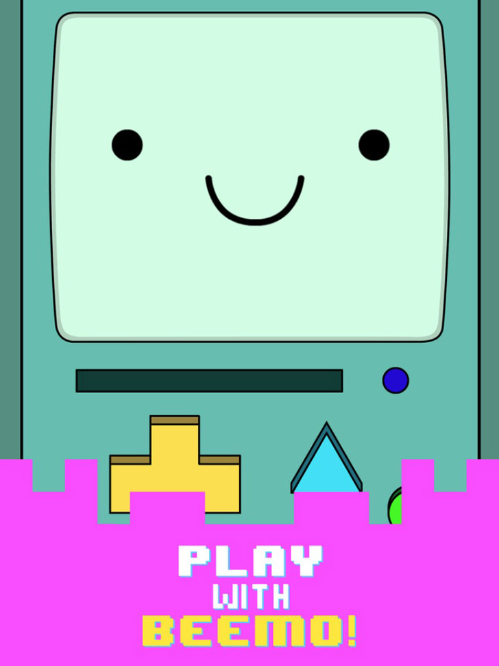 Beemo - Adventure Time App iTunes App By Cartoon Network - FreeApps.ws