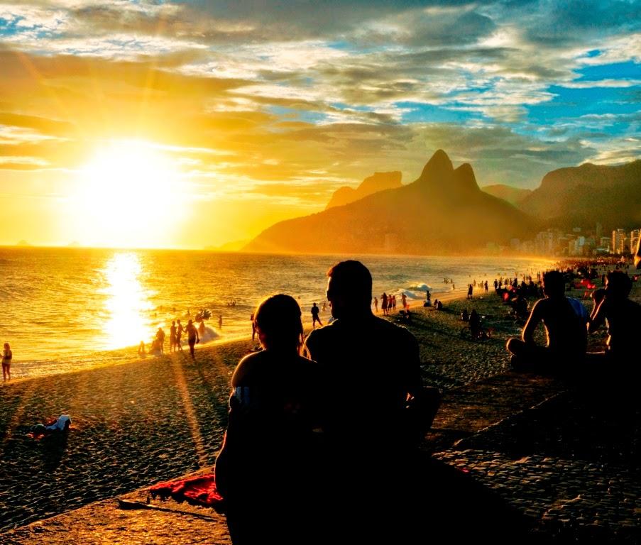 praias brasileiras paquerar
