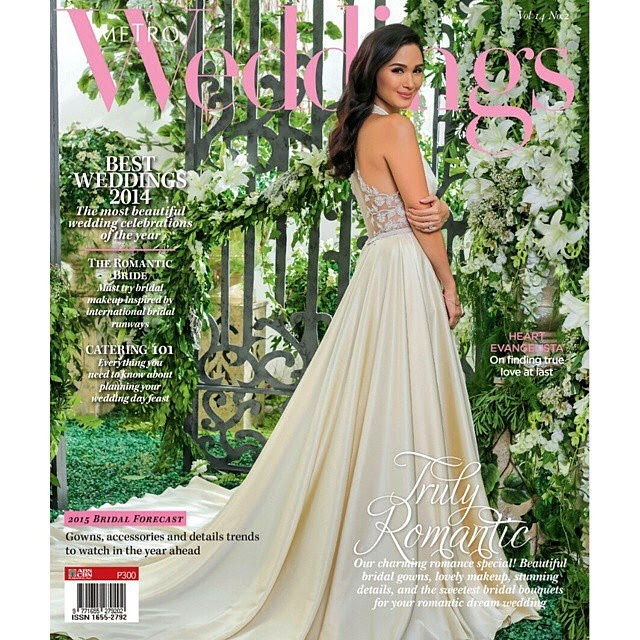 Heart Evangelista for Metro Weddings