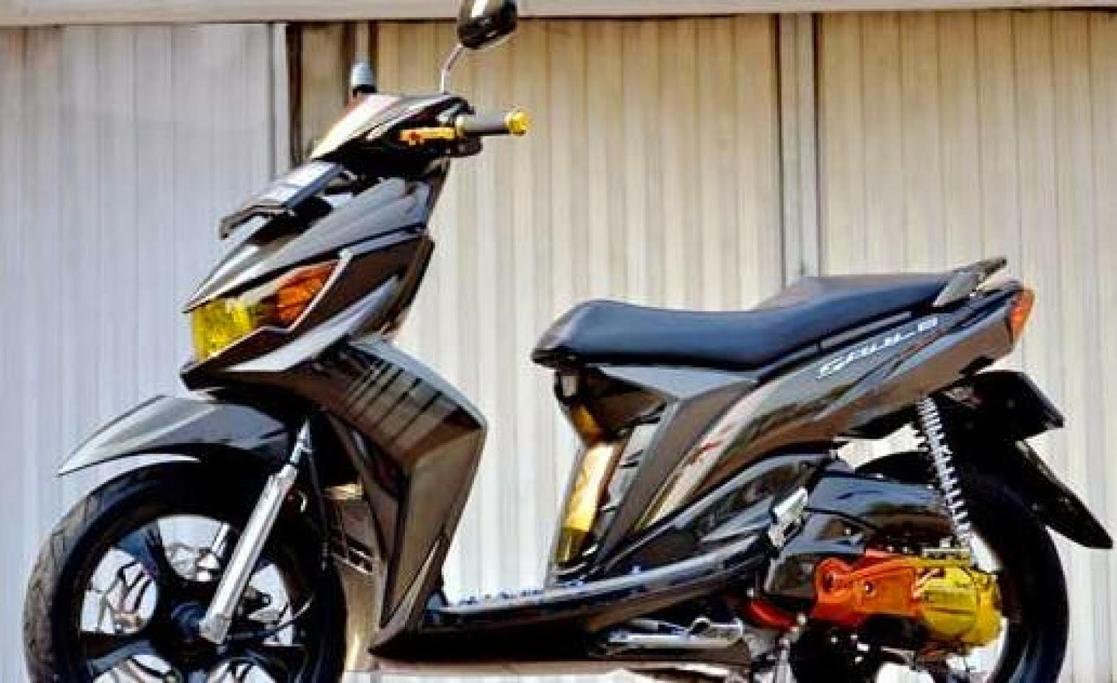 Modifikasi Yamaha Shoul GT