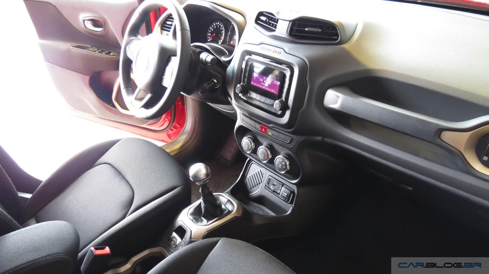 Jeep renegade flex fotos e v deo do modelo de r 69 9 mil for Interno jeep renegade