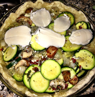 Zucchini Pie and Mother's Day Menu Ideas | www.kettlercuisine.com