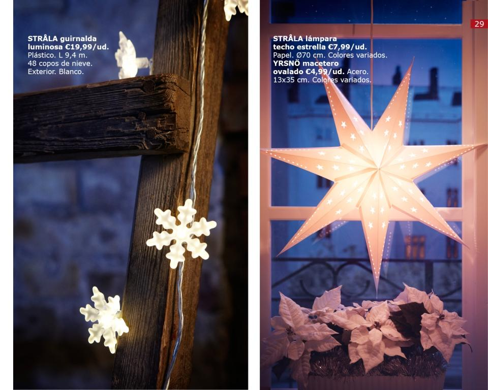 Navidad ikea 2011 el cat logo al completo - Luces decorativas ikea ...