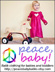 Peace, Baby! Batiks