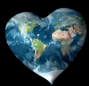 Este Planeta es tuyo...! Protegelo! Cuídalo! Todos somos parte de este Planeta Corazón!