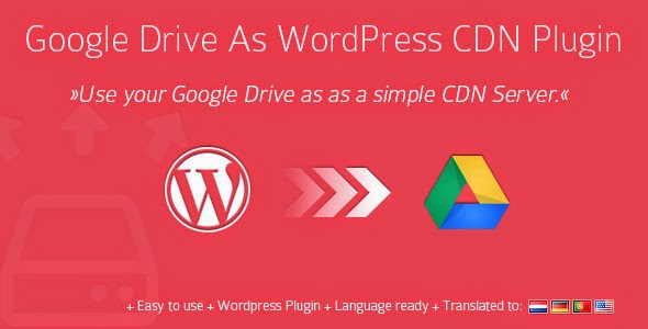 Google Drive As WordPress CDN - WordPress Plugin