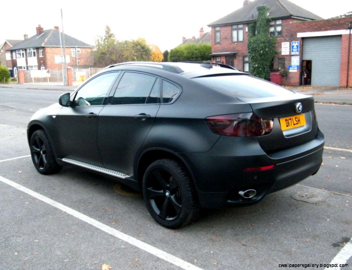 BMW X6 Matte Black