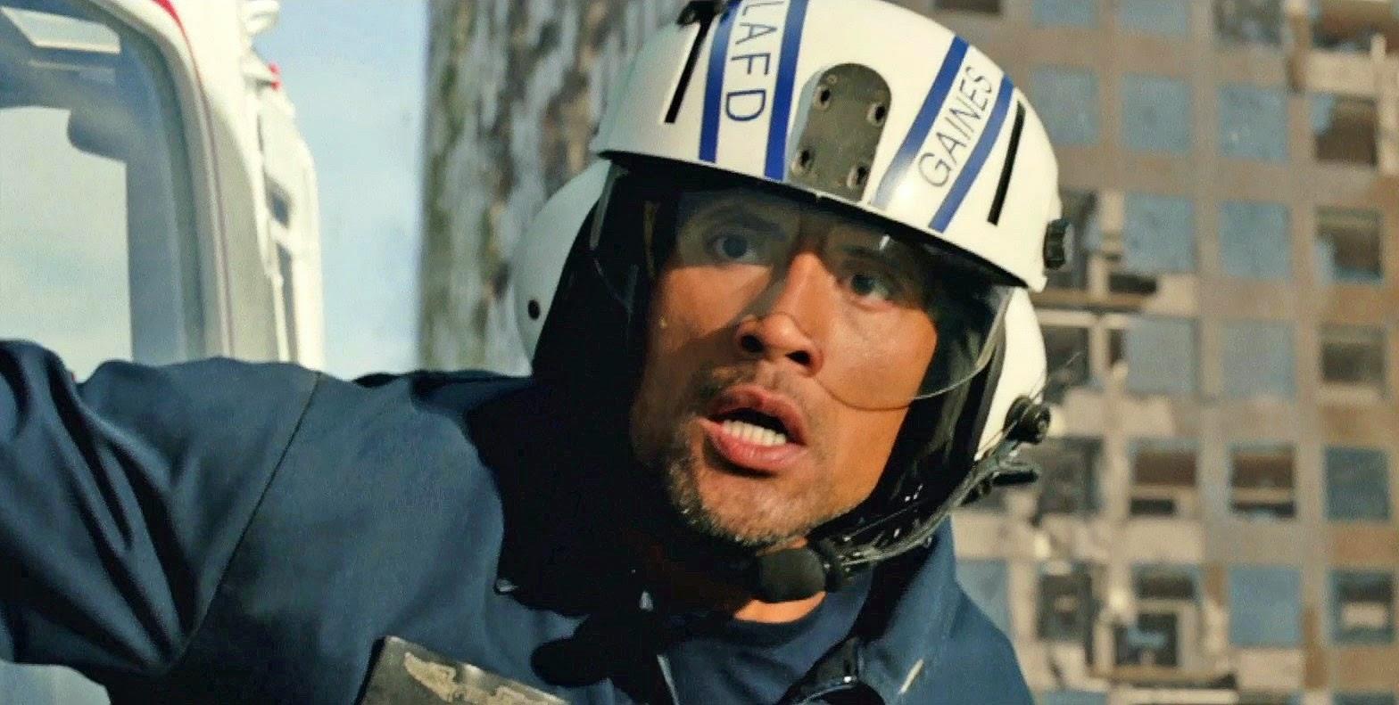 Dwayne Johnson em um resgate impossível em clipe e trailer internacional de Terremoto: A Falha de San Andreas