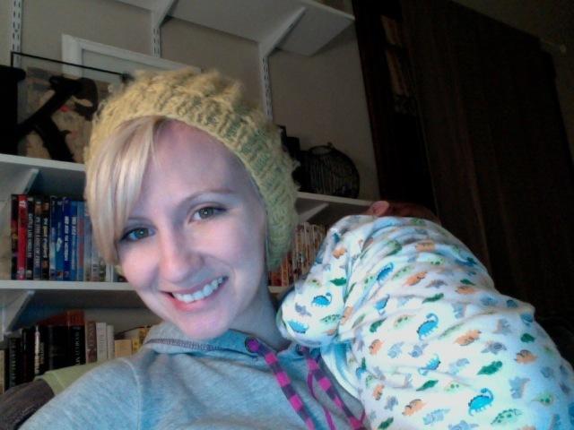 mommy blogger, sleepy baby, when regarding ruffles