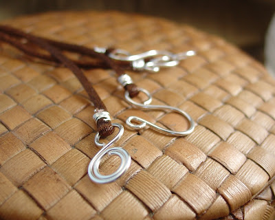 sterling silver hook and eye clasp made by Vicky