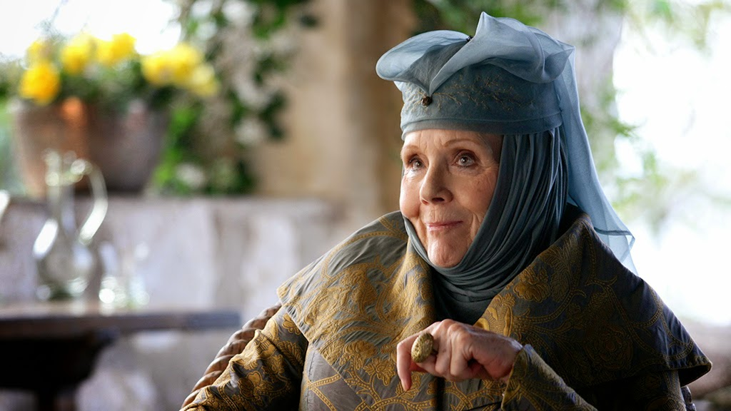 Olenna Tyrell Juego de Tronos Game of Thrones