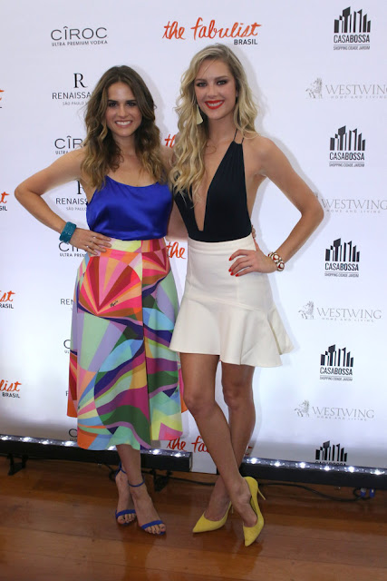 The Fabulist Brasil  com Giane Albertoni e Laila Coelho estreia hoje  no canal E! (Thiago Duran/AgNews)