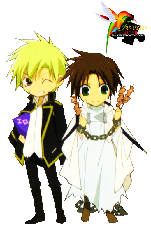 PNG - Chibis Teito y Mikage