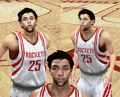 NBA 2K13 Chandler Parsons Cyberface Normal Hair Patch