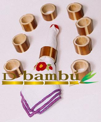 servilleteros con cañas de bambú-eltallerdejazmin