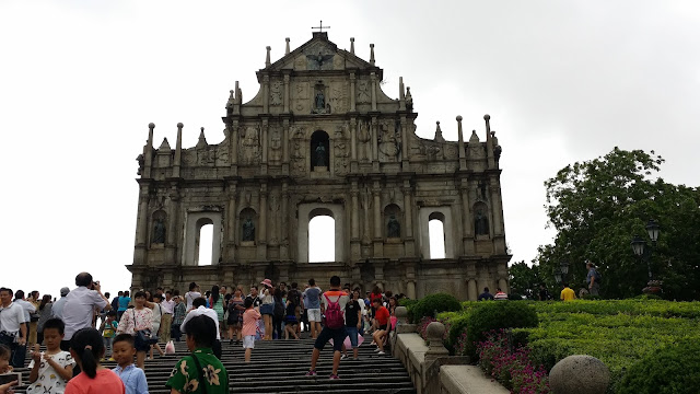 St. Paul Ruins Senado Square Macau