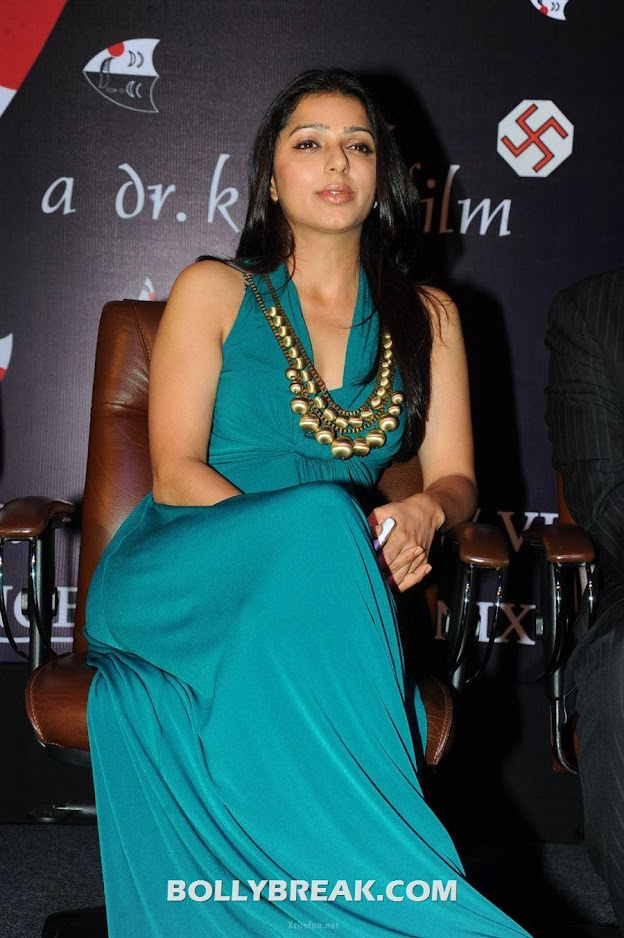 Bhumika Chawla Green dress photos