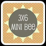 3X6 Sampler Quilt Mini Bee