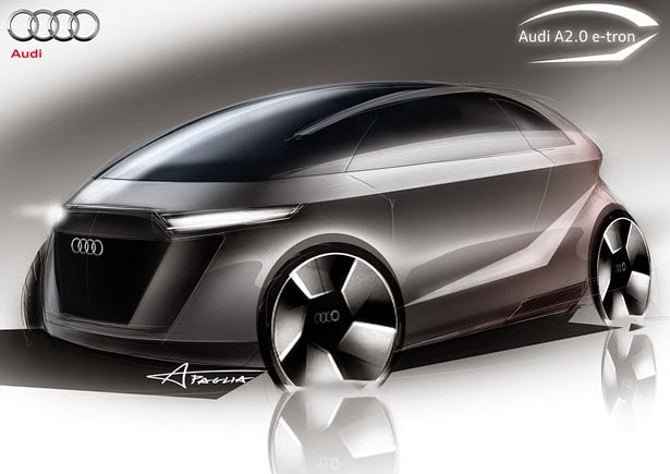 Audi A Concept Electric Car For Future Young Generation The - Audi future cars