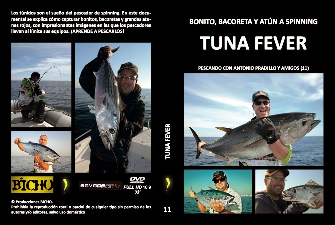 DVD TUNA FEVER (atún, bonito y bacoreta)