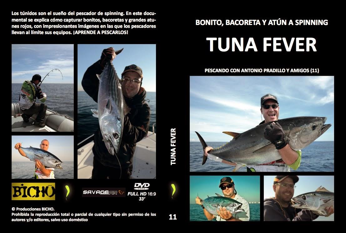 DVD TUNA FEVER (atún, bonito y bacoreta)