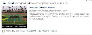 Tim Titrud Holocaust Denier