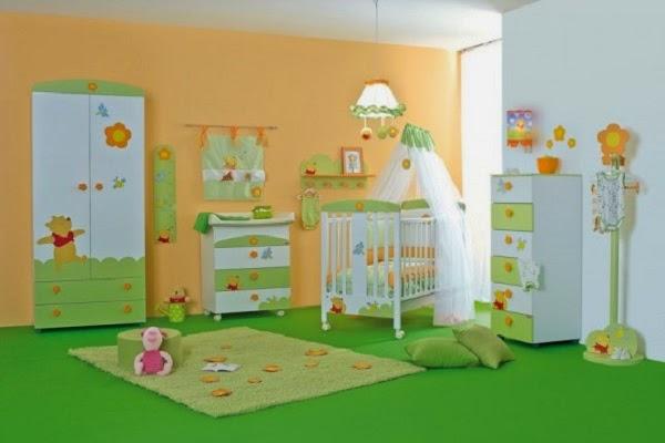 Une nouvelle collection de décoration chambre bébé garçon winnie l'ourson