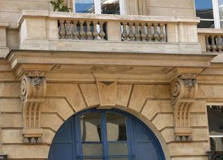 Balcon 12 rue de Tournon à Paris