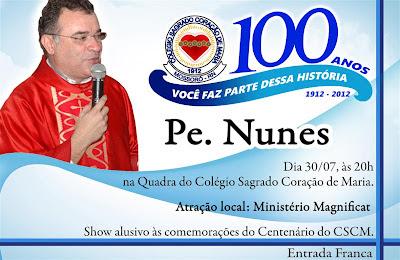 Padre Nunes nos 100 anos do Colégio das Irmãs em Mossoró