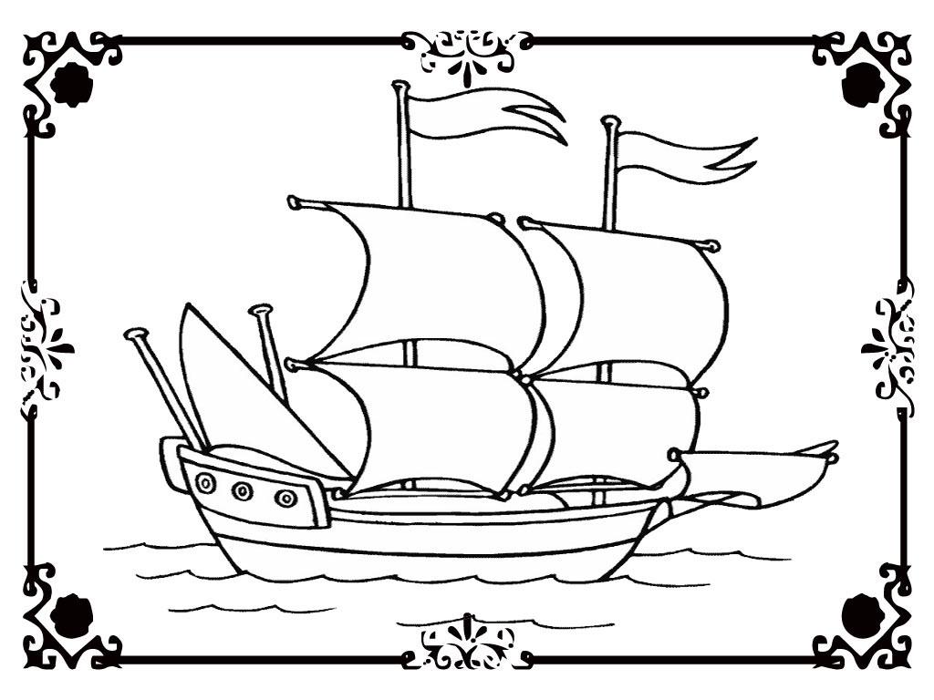 Free Coloring Pages Of Viking Viking Ship Coloring Page