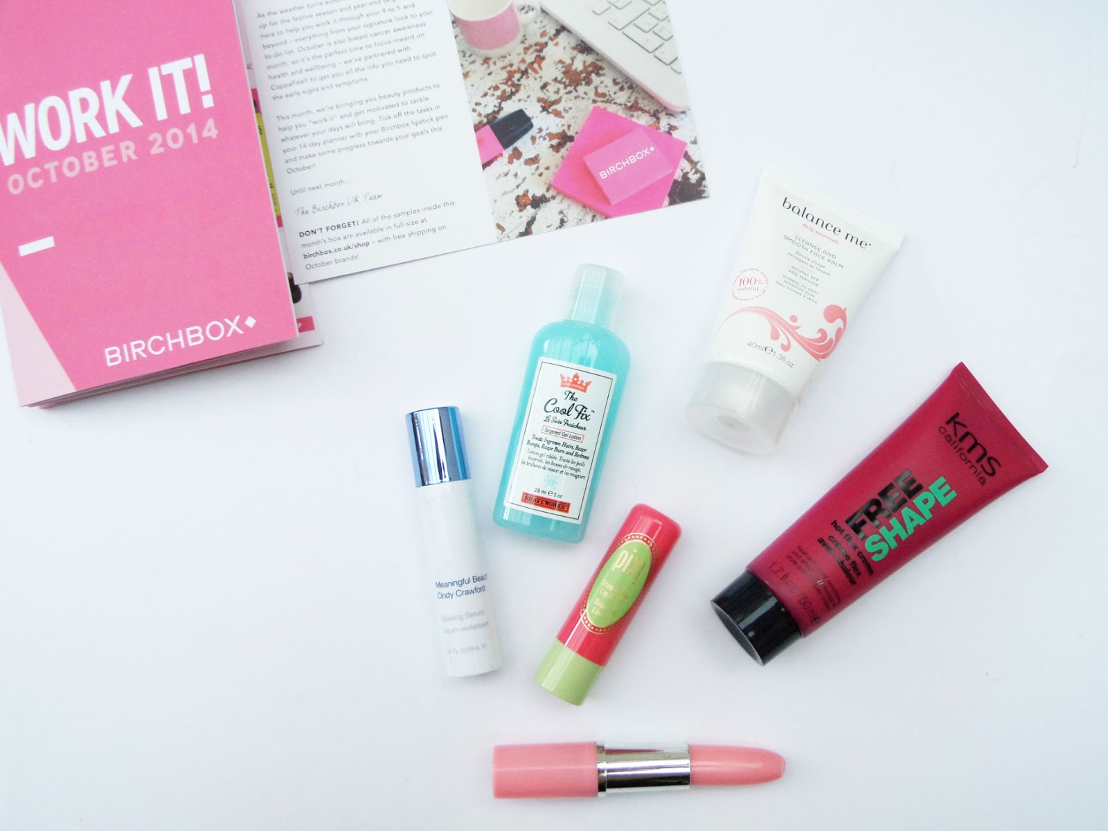 Inside The October 2014 Birchbox | Work It | With CoppaFeel