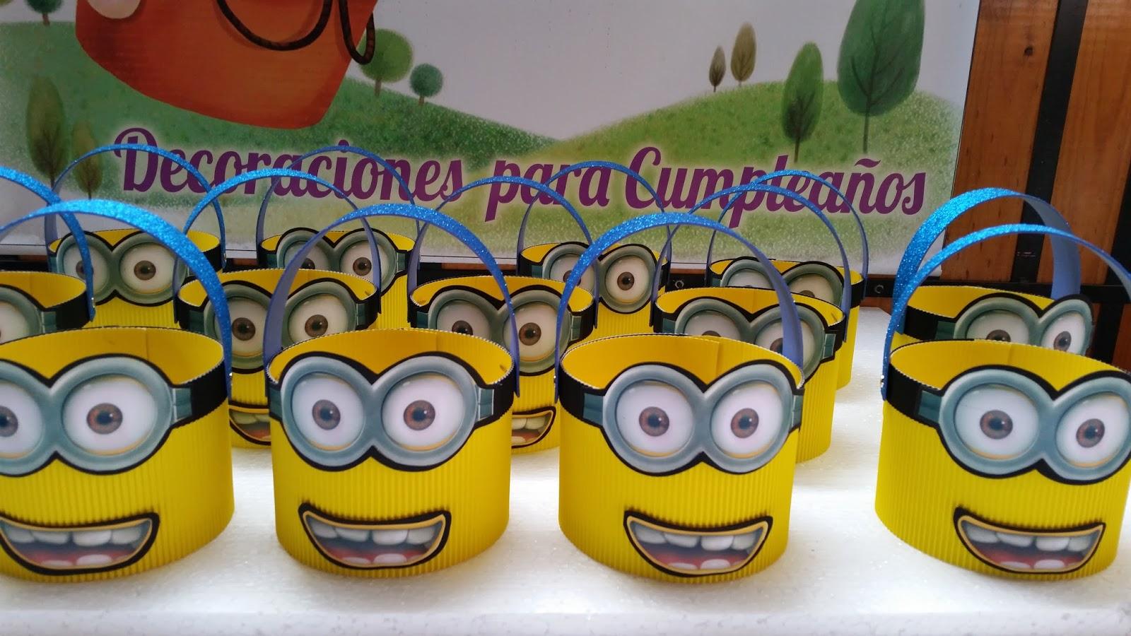 Decoracion Minions Para Fiestas Infantiles ~ DECORACIONES INFANTILES